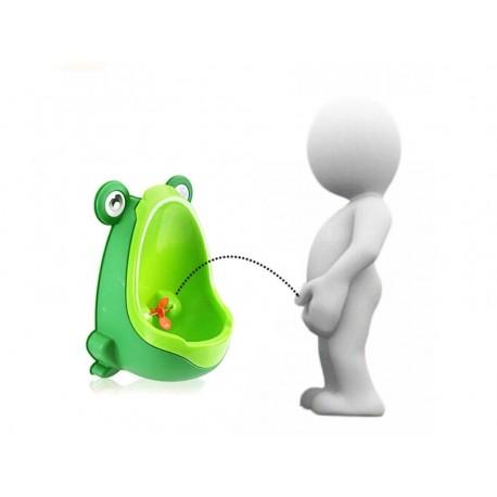 Dětský pisoár ve tvaru žáby