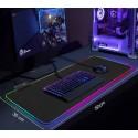 LED svítící podložka pod myš a klávesnici