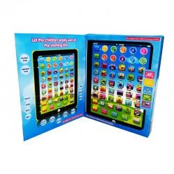 Chytrý vzdělávací tablet pro děti - modrý
