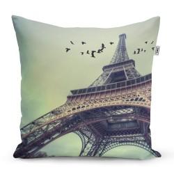 Polštářek s potiskem - Eiffelova věž - Sablio